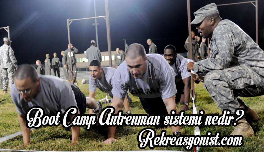 Boot Camp Antrenman sistemi
